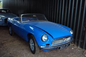 1970 MGB ROADSTER C/B,WIRE WHEELS,OVERDRIVE,RESTORATION NEARING COMPLETION