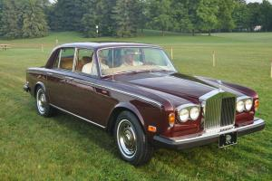 1976 Rolls Royce Silver Shadow Sedan Saloon Award Winner w/trade 87-89 Porsche