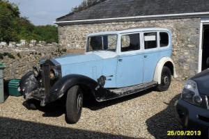 Rolls Royce 20/25 Barn Find