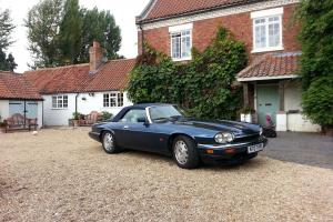 1995 JAGUAR XJ-S 4.0 AUTO CONVERTIBLE CELEBRATION MODEL IN BLUE