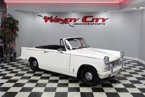 1974 Triumph Herald Roadster Full Restoration Low Miles Runs Great Must See! Photo