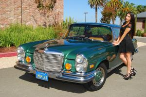 RARE 1970 MERCEDES 280SE LOW-GRILLE COUPE 75K MILES SOLID GARAGED CALIFORNIA CAR