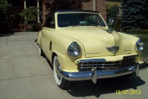 Beautiful 1949 Champion Convertible.