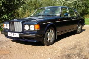1993 BENTLEY TURBO R AUTO BLUE  Photo
