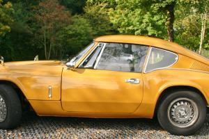 TRIUMPH GT6 mk3 1971 TAX FREE/ EXEMPT SAFRON YELLOW , CLASSIC INSURANCE