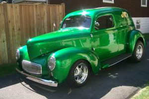 1941 Willys Sedan Delivery Americar All Steel Car - Body, Fenders, Hood Chevy SB