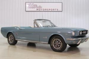 1966 Ford Mustang Convertible-289- 22,000 ACTUAL MILES!