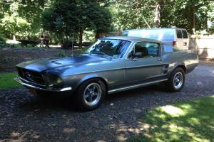 1967 FORD MUSTANG FASTBACK S CODE 390 4 SPEED (289 TRIPOWER ENGINE 6 SPEED NOW)