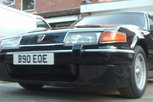 1985 ROVER SD1 3500 VITESSE BLACK V8 low miles,British Muscle Car,Ex cond,not p6  Photo