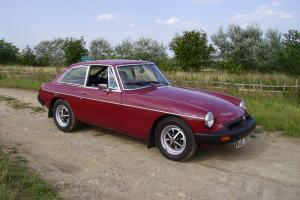 MGB GT 1978 in excellent condition. PRICE REDUCTION