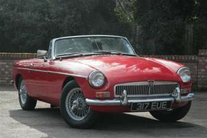 MGB ROADSTER MK1 1964 TARTAN RED  Photo