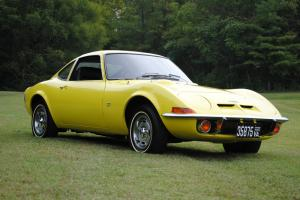 1970 OPEL GT - original CA car - 3rd owner - auto, sunburst yellow/black int