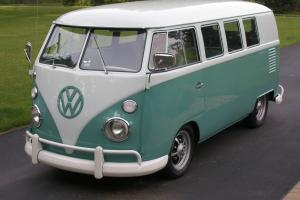 1963 VW Bus Standard Bus Stock Appaearance.. But Low and Cool!
