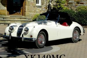 1957 Jaguar XK140MC OTS 3.4L Roadster Convertible XK SE MC 57 Special Equipment Photo