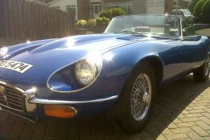 Jaguar E Type V12  Photo