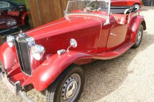 1951 MG TD Left Hand drive  Photo