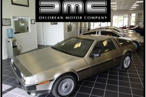 1981 DeLorean DMC-12 5 Speed Manual 2-Door Coupe
