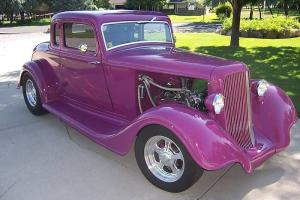 1934 PLYMOUTH PE 5 WINDOW RUMBLE SEAT COUPE