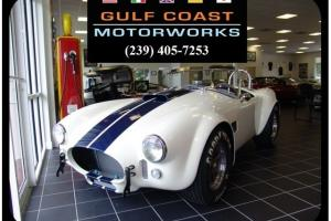 1965 Superformance MKIII Wimbeldon White 5 Speed Manual 2-Door Convertible