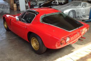Bizzarrini Europa 1900 Red Maserati For Rally, racing