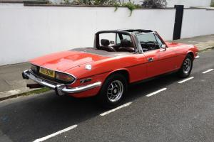TRIUMPH STAG RED OUTSTANDING