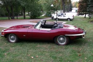1971 Jaguar XKE 4.2 Series II E Type near original condition never restored Photo