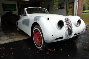 1957 Jaguar XK140 Drop Head Coupe Photo