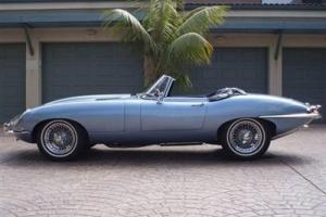 1964 JAGUAR XKE ROADSTER SHOWSTOPPER BLUE BEAUTY RARE RESTORED CLASSIC