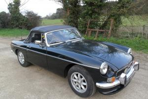 MGB ROADSTER 1972 HISTORIC VEHICLE