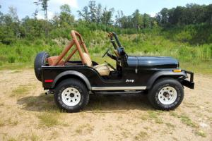 RESTORED JEEP CJ 5 4X4 FACTORY V/8 BEAUTIFUL CLASSIC WITH HARDTOP ORIGINAL 304V8