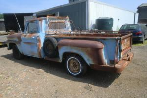 1964 chevrolet c10 step side pick up original factory paint with