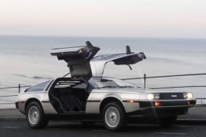 DELOREAN DMC-12 29,000 MILES BLACK LEATHER MANUAL TAXED