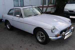 MGB GT-MIRAGE GREY-CHROME BUMPER MODEL-1974 Photo