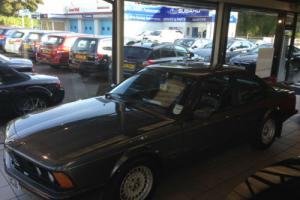 1987 BMW 635CSi Coupe 3430cc Petrol