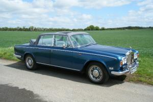 Rolls royce silver shadow 4door convertible  Photo