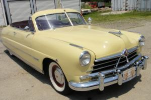 1950 Hudson Commodore SIX Convertible.  !!!  Very Hard to find and rare car  !!!