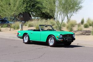 1976 Triump TR6 Roadster Overdrive Full History All Original Must See!!! Photo