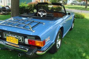 1975 Triumph TR6 Base Convertible 2-Door 2.5L