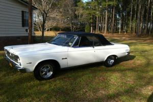 1965 Plymouth Satellite convertible with a 440 beautiful new paint many extras