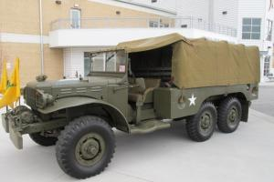 WWII Troop Carrier 1943 Dodge 6x6 WC63