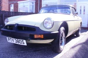 1977 MGB ROADSTER WITH OVERDRIVE