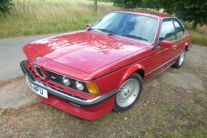 1985 BMW M635 635 CSI e24 286bhp (M6 in the USA)