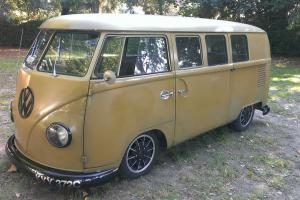 1965 split screen camper, twin sliding door, super rare