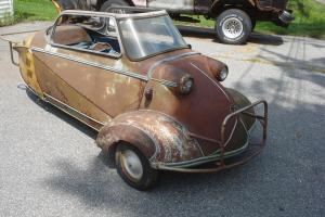 1955 MESSERSCHMITT KR200 Kabinroller project/barn find