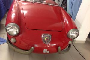 Fiat Abarth 750 Allemano Spyder project