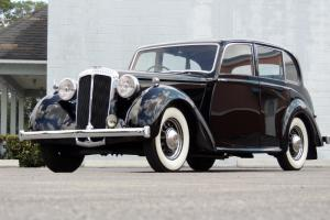 1947 Daimler 2 1/2 Liter Picknick Saloon DB18 As Used by The Royal Family