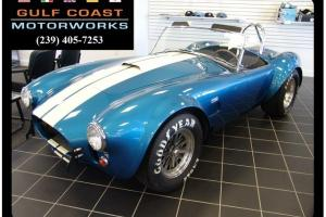 1965 Shelby 427 SC Guardsman Blue 5 Speed Manual 2-Door Convertible