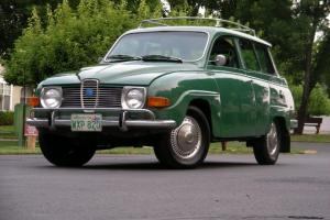 1970 Saab 95 7 Passenger Station Wagon One Owner