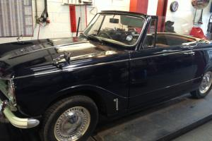 TRIUMPH HERALD 13/60 BLUE CONVERTIBLE  Photo