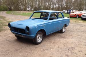 1965 FORD CORTINA MK1 2 DOOR BODYSHELL, Air-flow type, not Lotus, Rally, Race